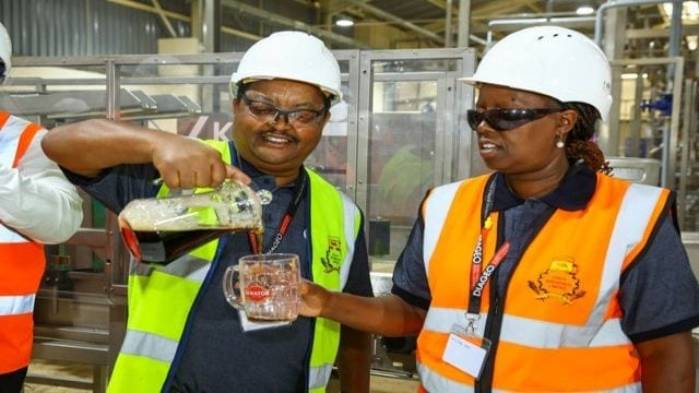 Kenya Breweries' trains 300 youth and women through