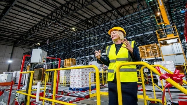 AB InBev opens new automated 'robo-warehouses' in UK brewery  