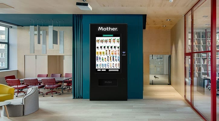 UK vending business Mother secures US$3 7m funding |